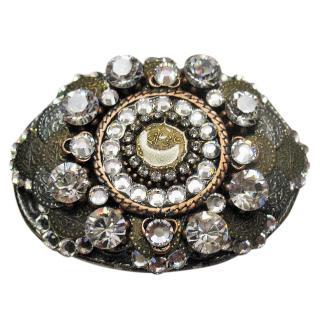 BiBi Belt Buckle with Swarovski Crystal Stones