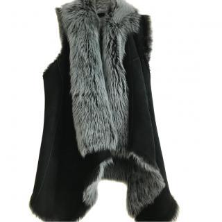 Drome Italy Sleeveless Fur Jacket
