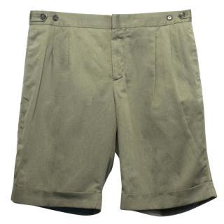 The Kooples Green Shorts