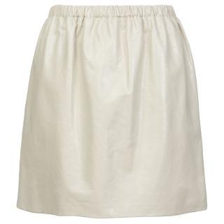 Miu Miu Leather Skirt