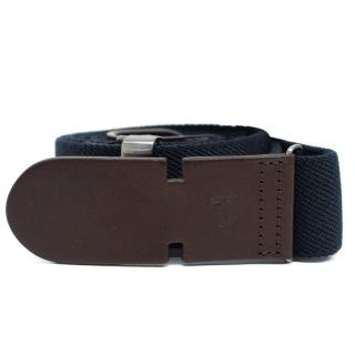 Tods Mens Navy Canvas Belts