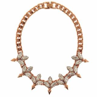 MAWI Crystal Spike Necklace