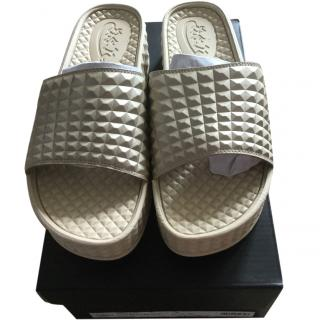 ASH studded chunky soled sandals