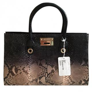 Jimmy Choo Riley Ombre Python Satchel - Immaculate, Limited Edition, R