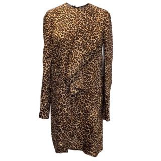 Miu Miu Leopard Print Dress