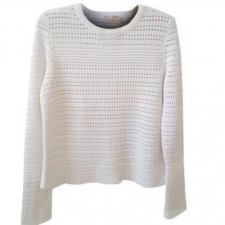 Tory Burch Honeycomb Sweater