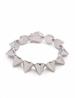 Eddie Borgo Cone Silver Plated Brass Bracelet