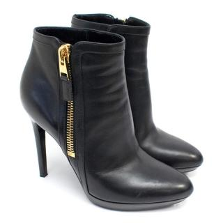 Tom Ford Black Ankle Boots