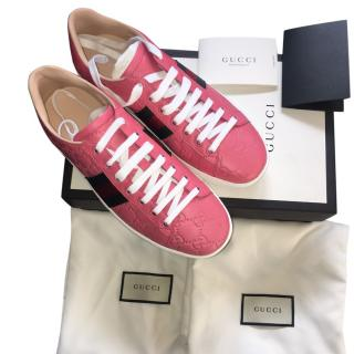 Gucci Pink Trainers