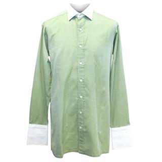 Charvet Green Shirt