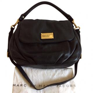 Marc by Marc Jacobs Lil Ukita Black Leather 2 way Bag