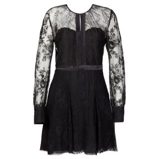 Miu Miu Black Lace Dress