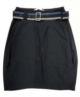 Marithe Francois Girbaud Black Stretch Skirt