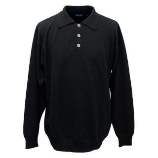 Cashmere Black Jumper