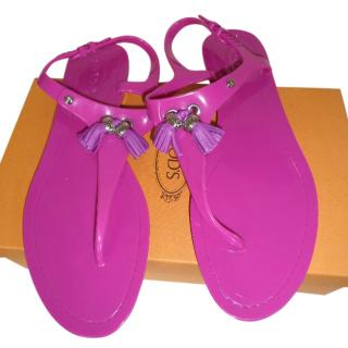 Tods Pink Sandals