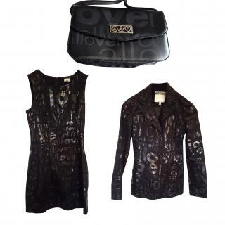Moschino Black Dress, Jacket and Bag Set