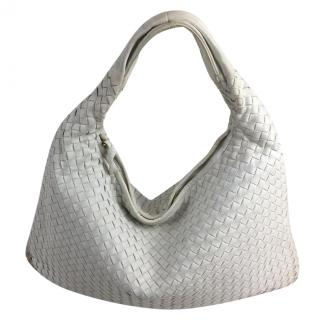 Bottega Veneta Large White Hobo Bag