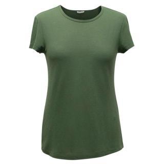 Celine Khaki T-shirt