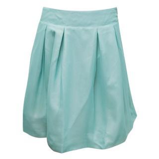 Roland Mouret Blue Mini Skirt