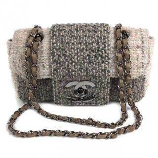 Chanel Tweed fantasy flap bag