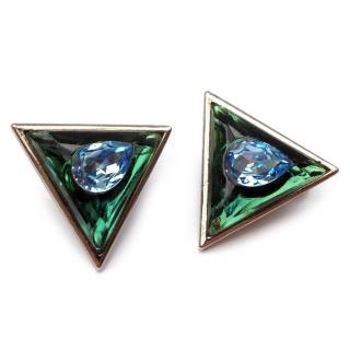 YSL Yves Saint Laurent Vintage Clip on Earrings