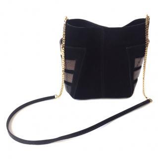 Jimmy Choo Black Suede Bag