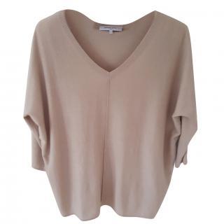 Gerard Darel silk, cashmere and cotton top