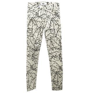 Paige Pattern Skinny Jeans