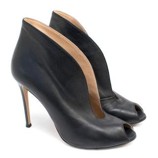 Gianvito Rossi Black Vamp shoe boots