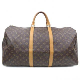 Louis Vuitton  Keepall 55 M41424 Monogram Boston Bag 10412