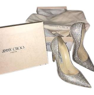 Jimmy Choo Swarovski Crystal Shoes