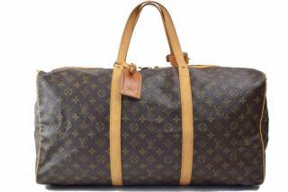 Louis Vuitton SacSouple M41624 Brown Monogram Boston Bag 10406