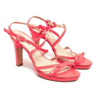 Repetto Coral Neon Sandals