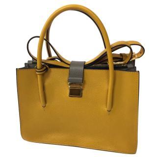Miu Miu Madras Yellow Bag