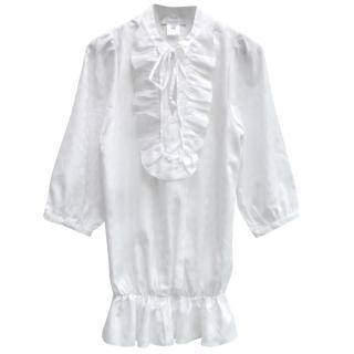 Paul & Joe Sister White Silk Tunic
