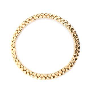 Cartier 18k Yellow Gold Heart Collar Necklace