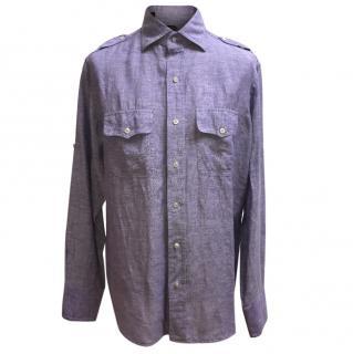 Tom Ford Purple Shirt
