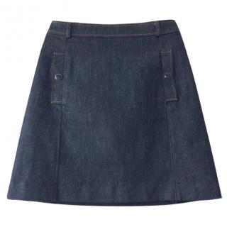 Vanessa Seward denim skirt as seen on Katie Holmes