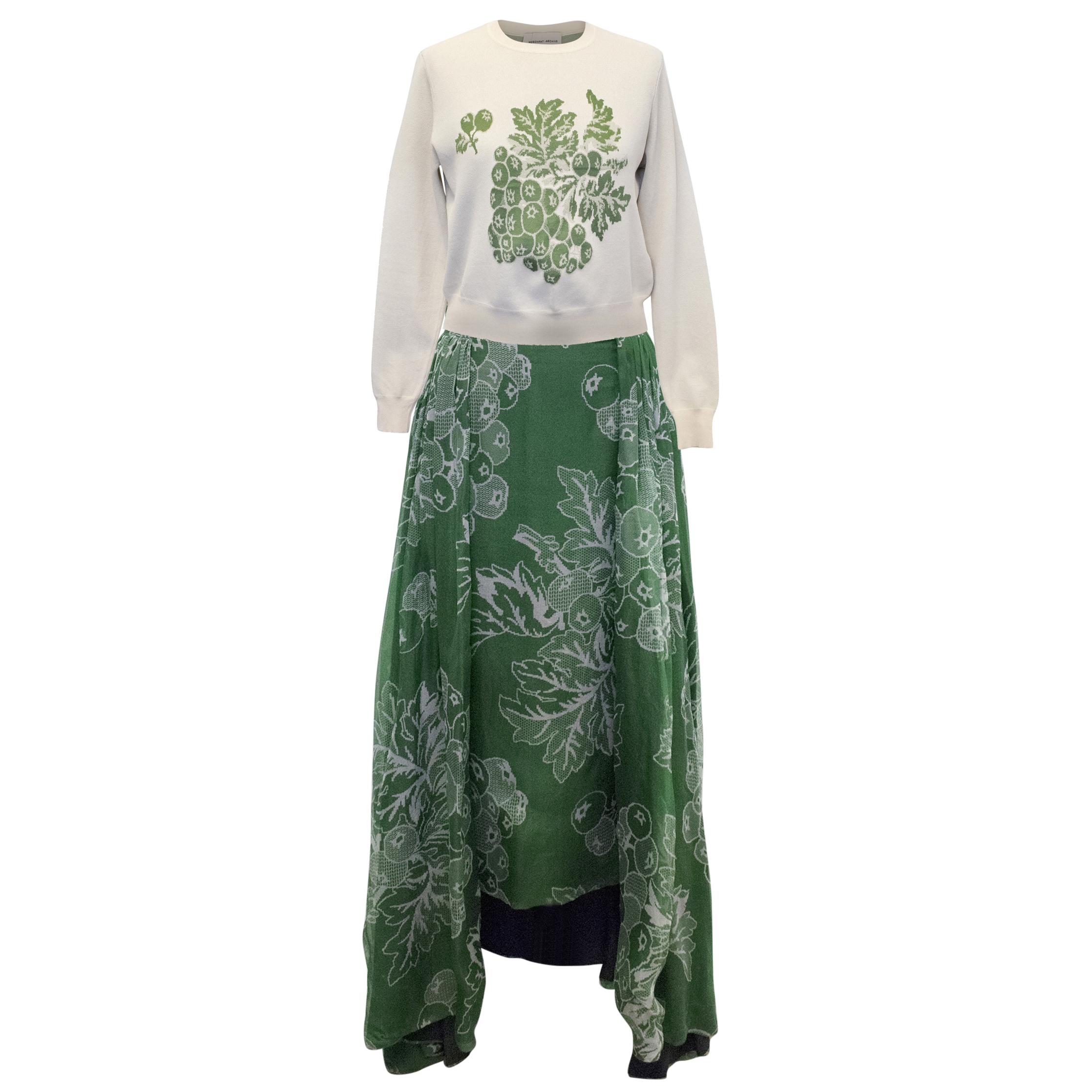 Merchant Archive Skirt and Jumper Set
