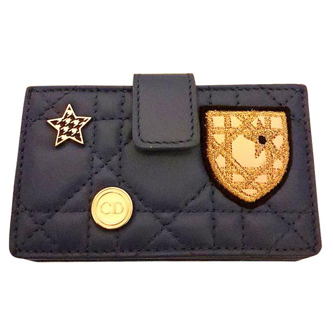 b960fe21f1a6 Lady Dior Gusset Card Holder