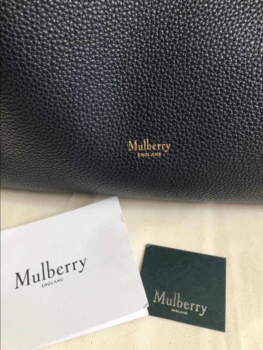 63c79c3843 Mulberry Tyndale Midnight Small Classic Grain. 27. 12345678910