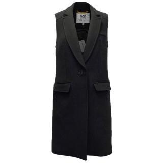 Milly Black Duffle Waistcoat
