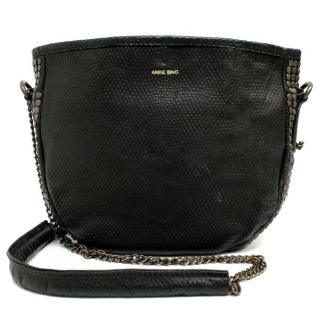 Anine Bing Black Chain Bag