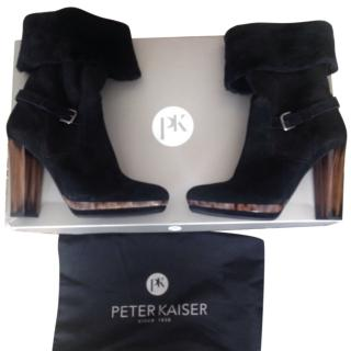 Peter Kaiser Ankle boots in Black