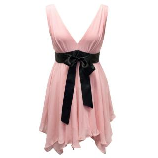Michael Kors Pink Ribbon Mini Dress
