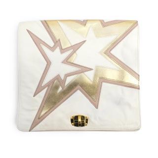 Miu Miu Cream Star Clutch