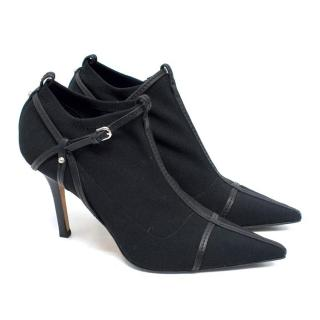 Gucci Black Ankle Boots