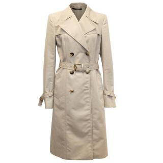 Gucci Beige Trench Coat