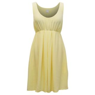 Club Monaco Yellow Bailey Silk Dress