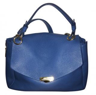 Versace Blue Leather Bag